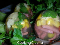 Яйца заливные 1