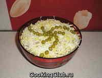 Зимний печеночный салат