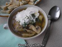 Суп грибной + 1 маленькая хитрость