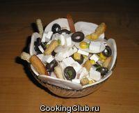 Салат из сырых шампиньонов - 2