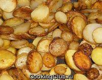 Картошка в горчице