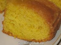 Лимонный кекс 1