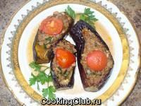 Карныярык (баклажаны с фаршем)