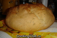 Французский деревенский хлеб с травами