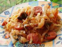 Бигос из свежей капусты 1