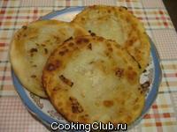 Луковые лепёшки по узбекски