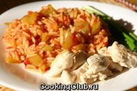 Лечо с рисом (как второе блюдо)