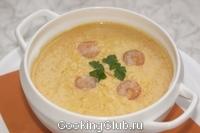 Суп - пюре из креветок