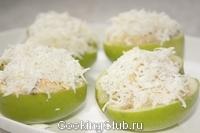Салат селедка в яблоках