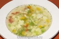 Суп рыбный со сладким перцем (быстрый)