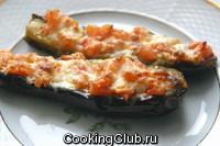 Баклажаны, запеченые с сыром или брынзой