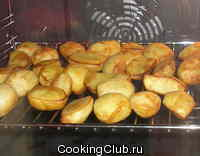 Печёная картошка (для электродуховок с конвектором)