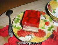 Сырник со свежими ягодами (№4)