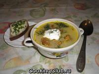 Суп из лисичек!