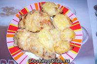 Куриные окорочка, запечённые в духовке