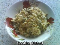Салатик с зеленой фасолькой