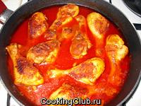 Куриные голени в томате