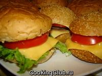 Чизбургер и фишбургер