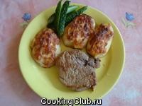 Мясо в горчице с картофелем