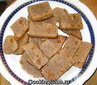 Печенье творожное из ржаной муки