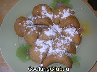 Пирожки с яблоками (milopitakia)