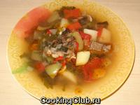 Суп из баранины (шулюм)