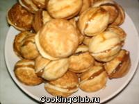 Орешки со сгущенкой и орешками