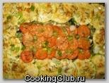 Запеканка из кабачков с рисом и грибами
