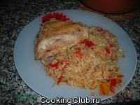 Рис пикантный по - азиатски