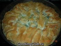 Турецкая кухня:Ispanaklı börek (Бёрек со шпинатом)