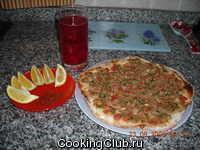 Турецкая кухня: Лахмаджун (турецкая пицца)