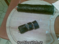 Роллы с лососем и огурцом