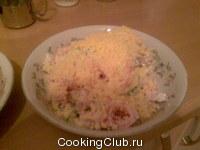 Салатик с кириешками
