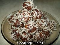 Фруктово - ореховое рафаэло